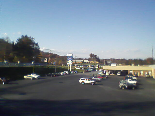Hunter Chevrolet/Hyundai on Asheville Hwy. in Hendersonville, NC